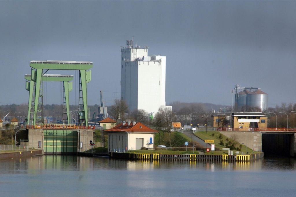 Auch der Kanal mit Schleuse soll Weltkulturerbe werden.