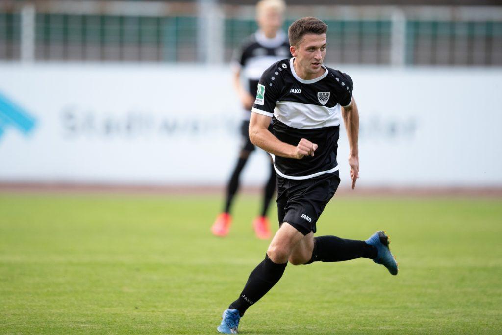 In seiner Jugend spielte Dominik Klann schon einmal für Preußen Münster.