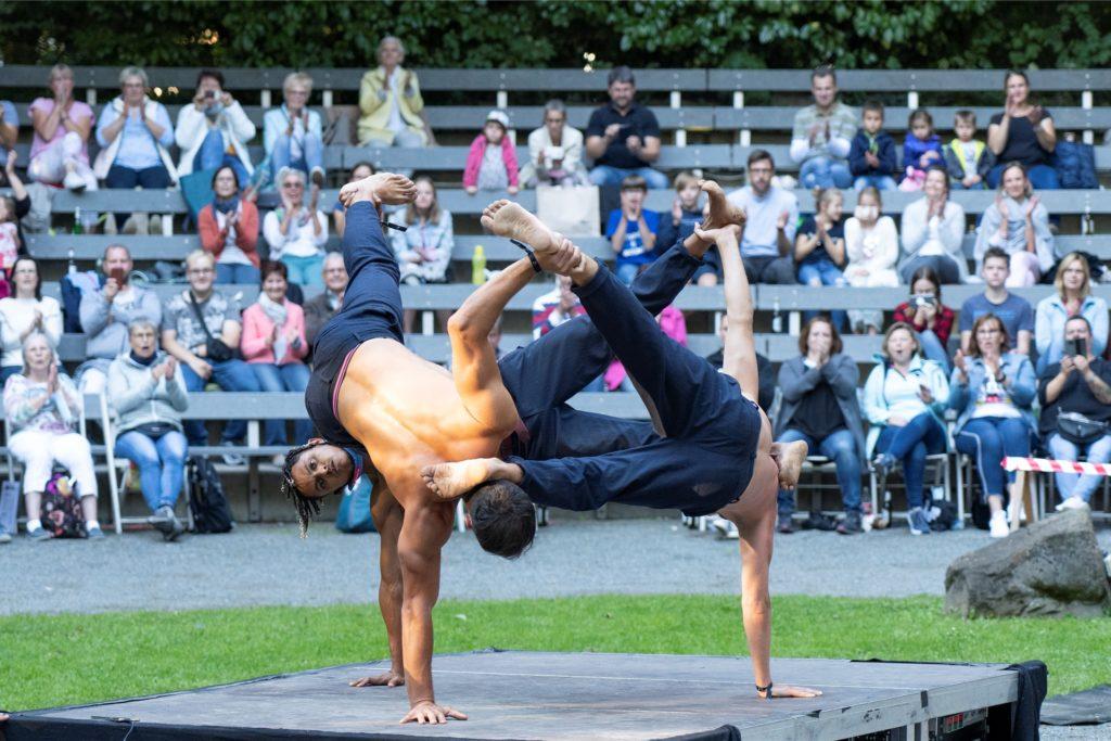 Das Straßenfestival wurde im August in die Werner Freilichtbühne verlegt.
