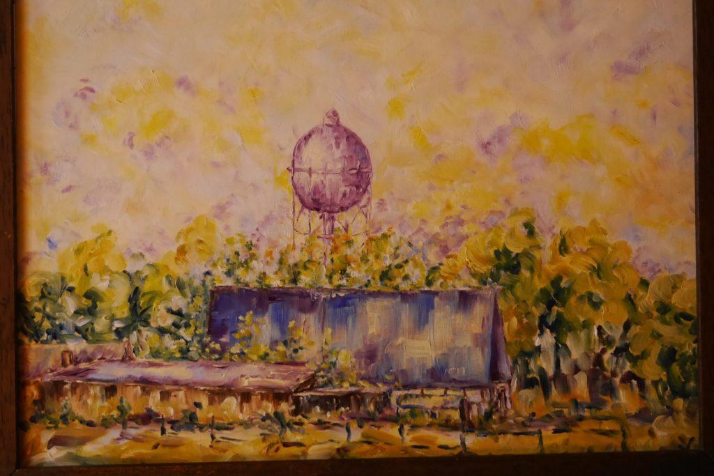 Hier ein weiteres Bild, das Dr. Wolfgang Gaertner im impressionistischen Stil gemalt hat