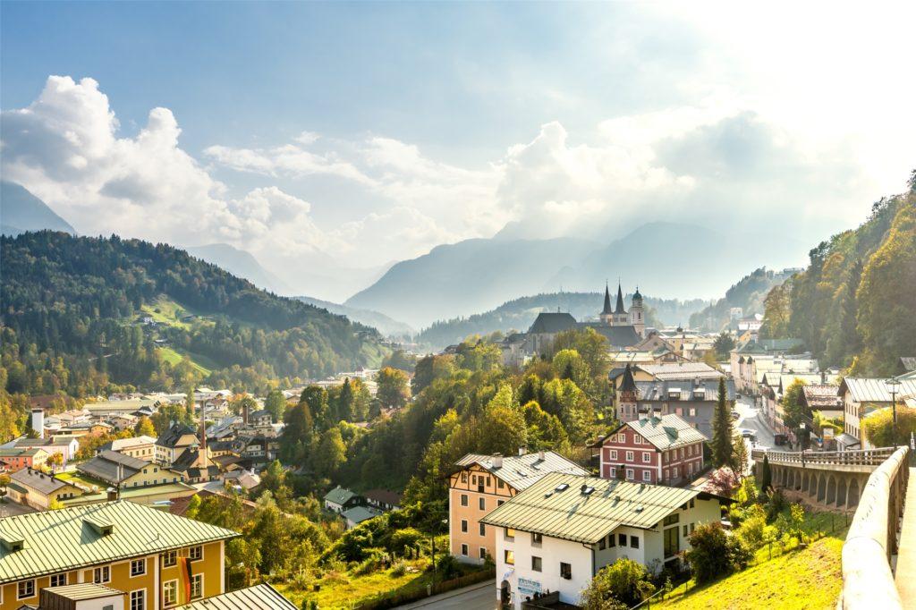Das schöne Berchtesgadener Land wird ebenfalls besucht.