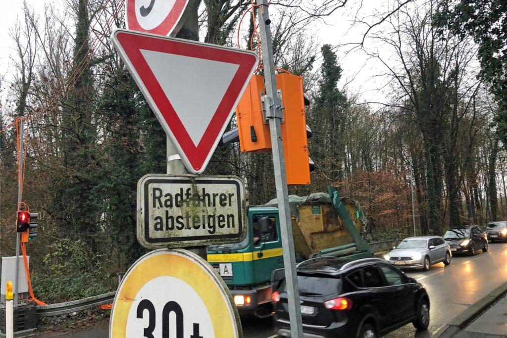 Chaos am Südring in Werne - lange Staus und Wutausbrüche inklusive.