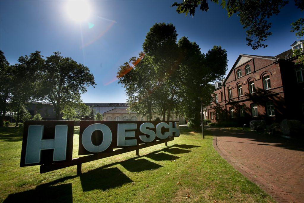 Das Hoeschmuseum erinnert an die Unternehmensgeschichte.
