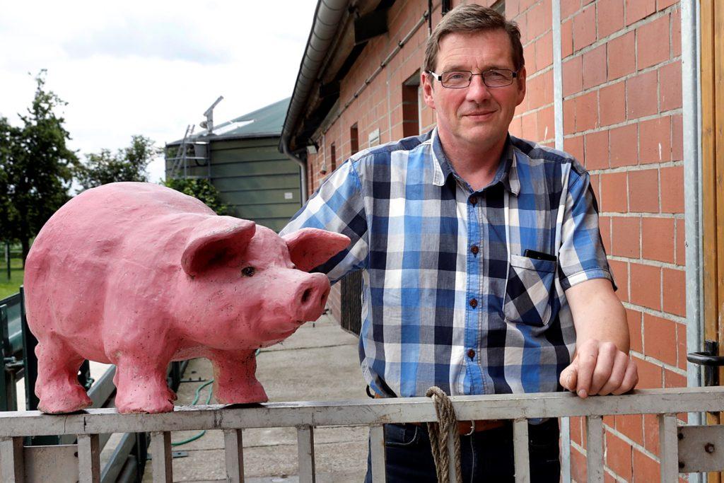 Ludger Winkelkotte ist Vorsitzender des Ortsverbandes Haltern im Landwirtschaftlichen Kreisverband Recklinghausen.