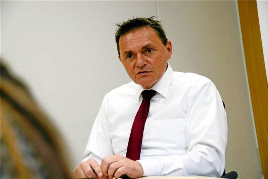 Bürgermeister Dietmar Bergmann holt bei der Kommunalwahl 90 Prozent der Stimmen.