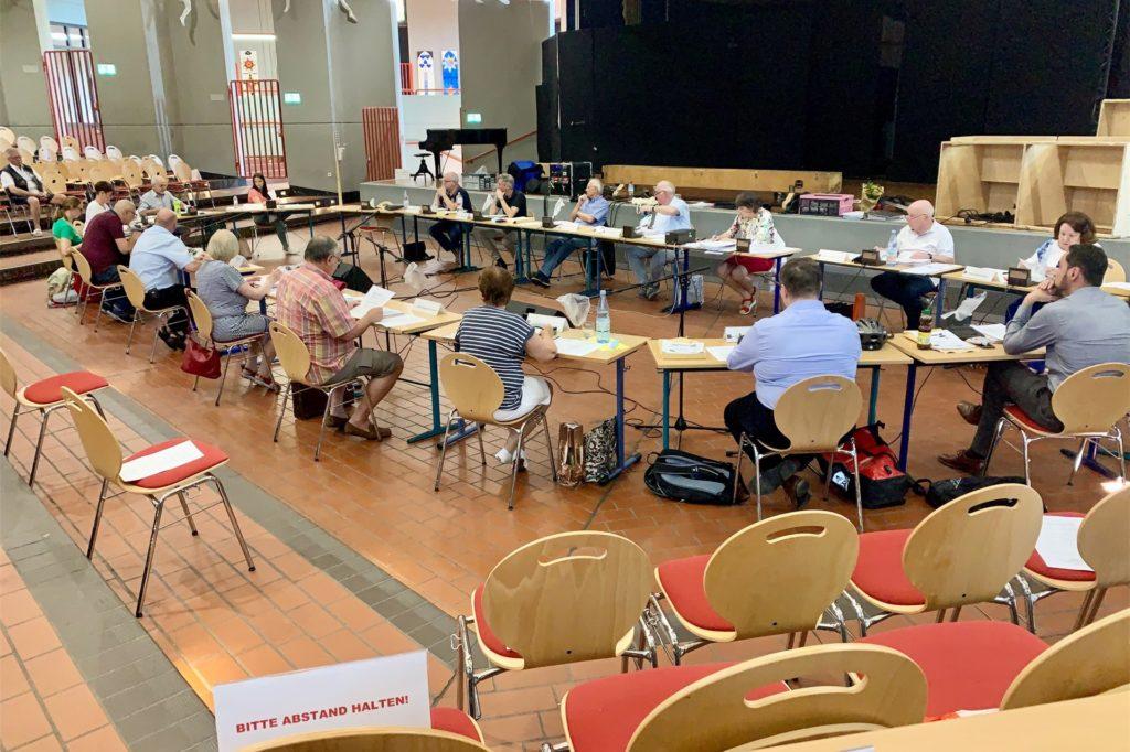 Die Bezirksvertreter kommen wieder im Helene-Lange-Gymnasium zusammen.