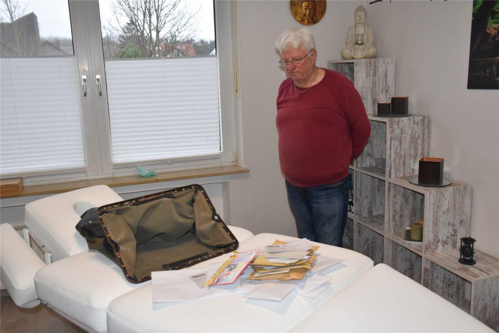 Die Post hat den Sack mit zahlreichen Briefen nicht bei Hans-Jürgen Hoppe abgeholt.