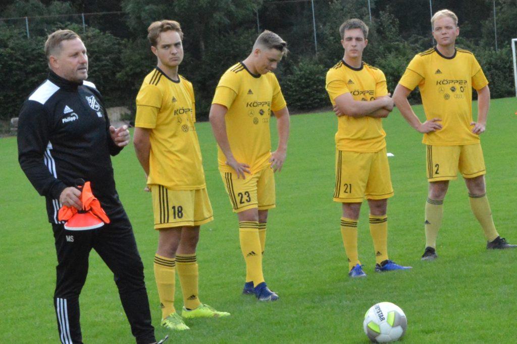 Martin Stroetzel, Training des SV Dorsten-Hardt