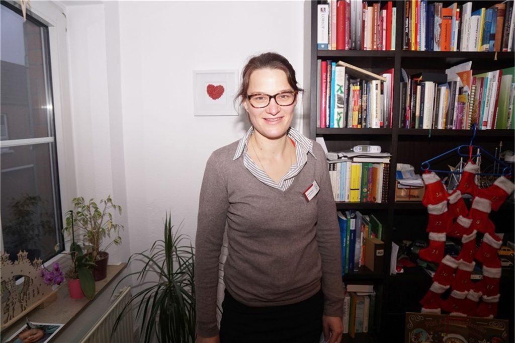 Kinderkrankenschwester Daniela Pöpping hat Familie Kemper in einer belastenden Phase unterstützt.