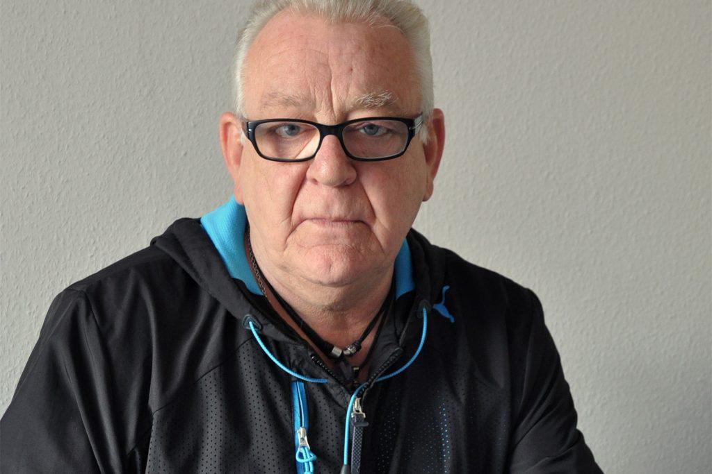 """Horst-Günter Jansen sagt: """"Kämpfen lohnt sich."""""""