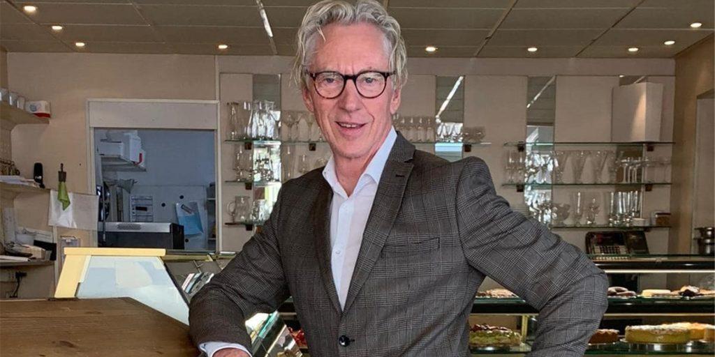 Hans-Joachim Schmale-Baars schließt sein Café Residenz.