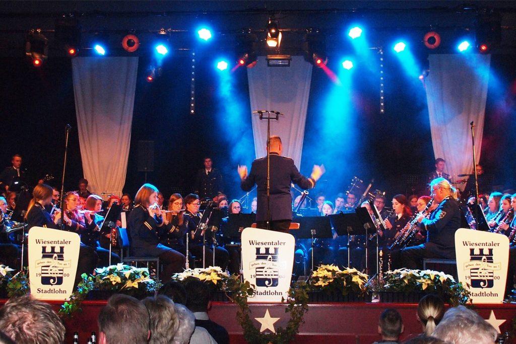 Das Weihnachtskonzert 2019 war einer der letzten großen Aufritte der Musikkapelle Wiesentaler.