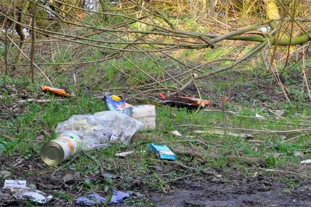 Wilde Müllkippen sorgen weiter für Ärger in Werne.