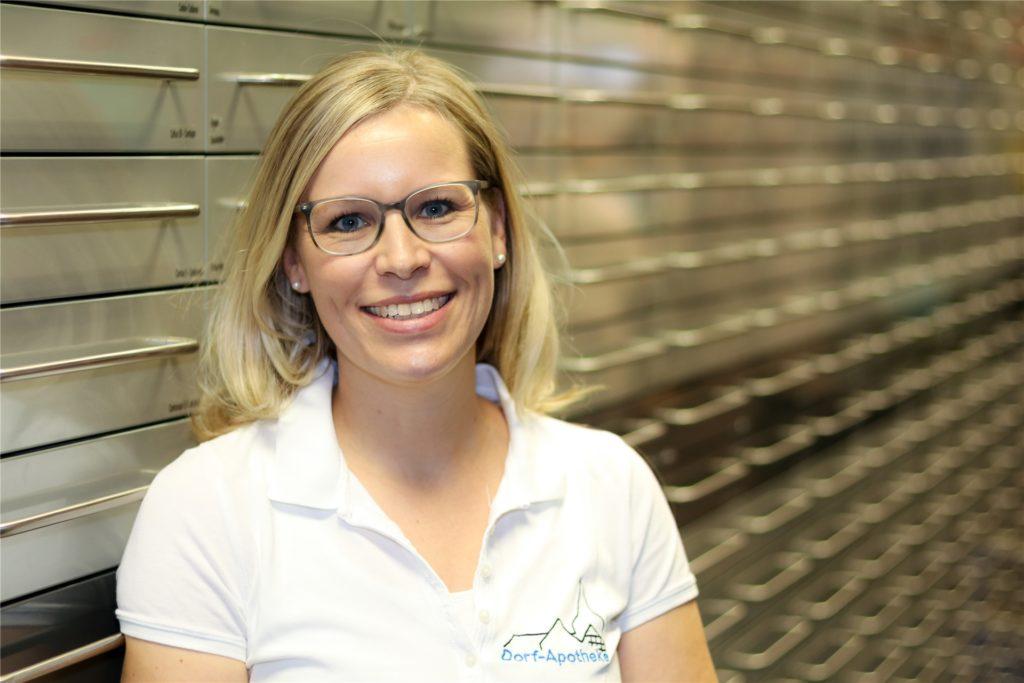 Christiane Petri-Reers von der Dorf Apotheke