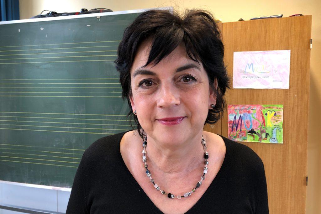 Jutta Portugall leitet die Lieberfeld-Grundschule in Wellinghofen.