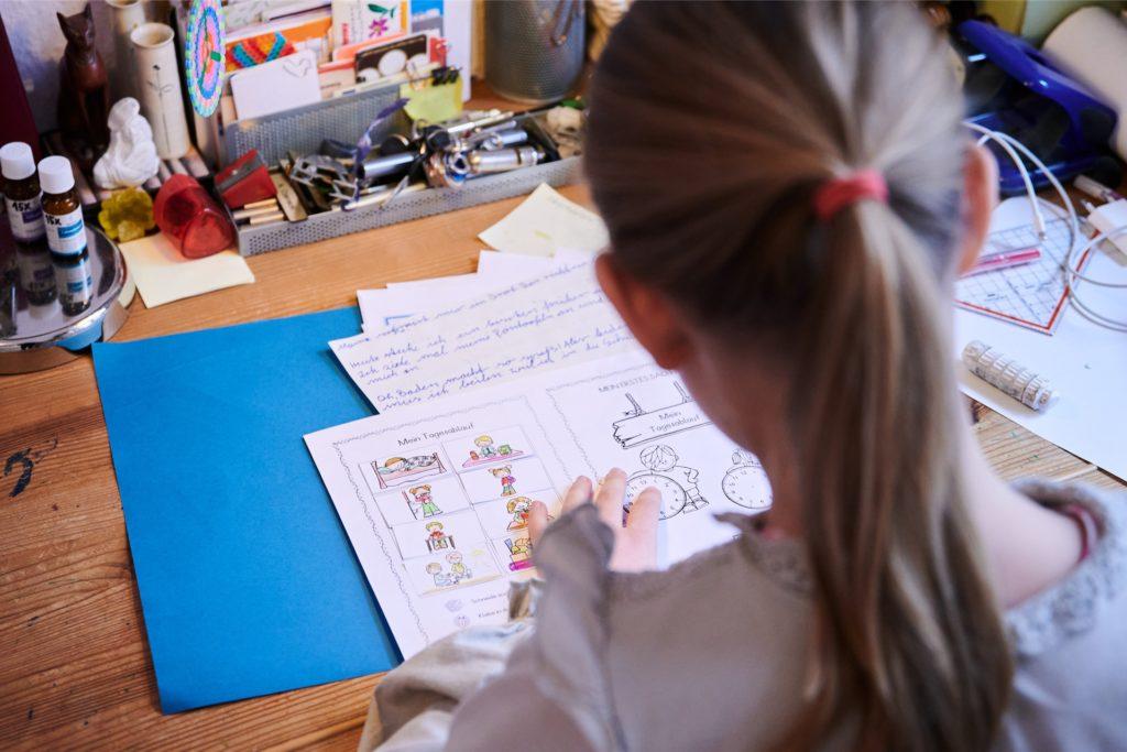 Die Schüler in NRW lernen seit Montag (11. Januar) im Distanzunterricht.