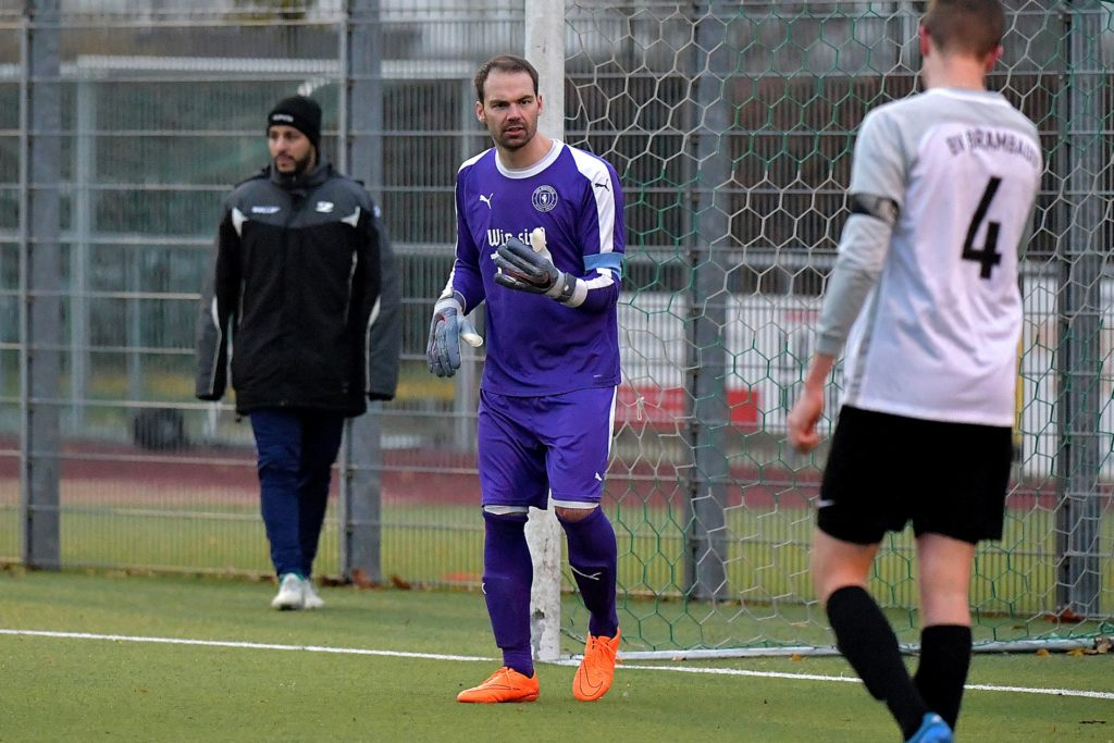 Torwart Florian Fischer ist im Sommer 2019 nach Wethmar gewechselt.