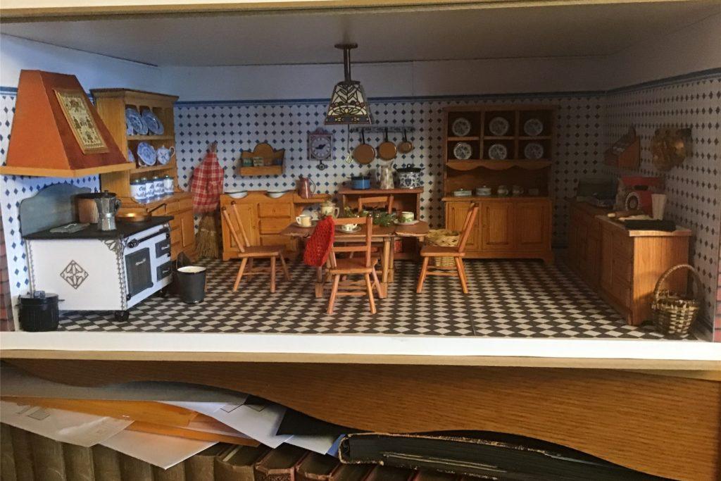 Auch eine Küche ist in den letzten Wochen des Lockdowns entstanden.