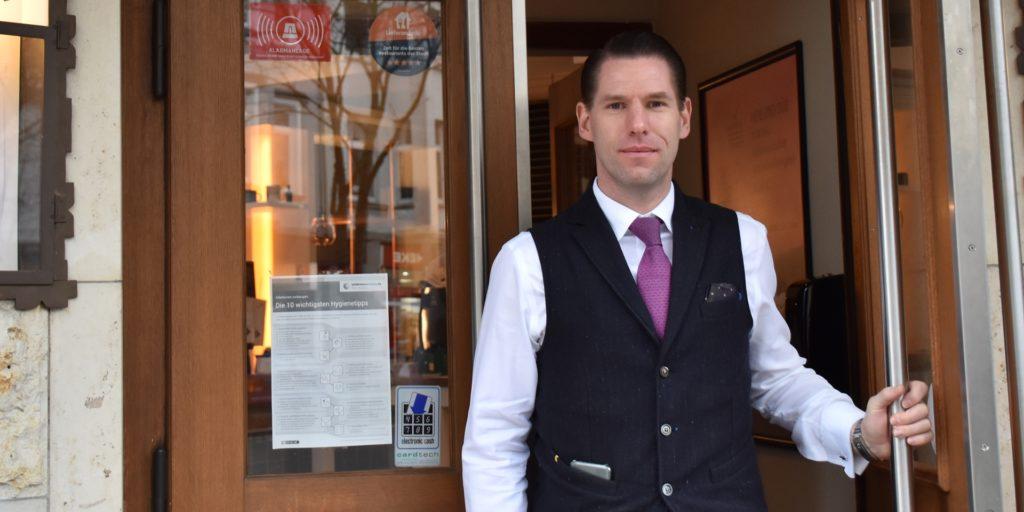 Manuel Kraas ist einer der Inhaber des Westermanns Deli in der Kaiserstraße.