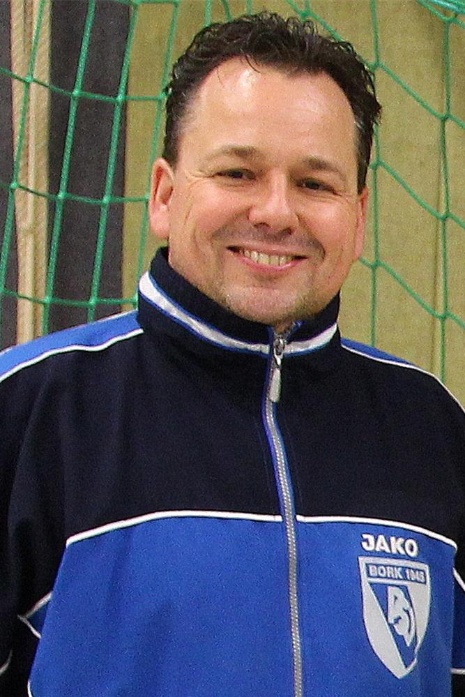 Matthias Hans vom PSV Bork begrüßt, dass die Handball-WM stattfindet.