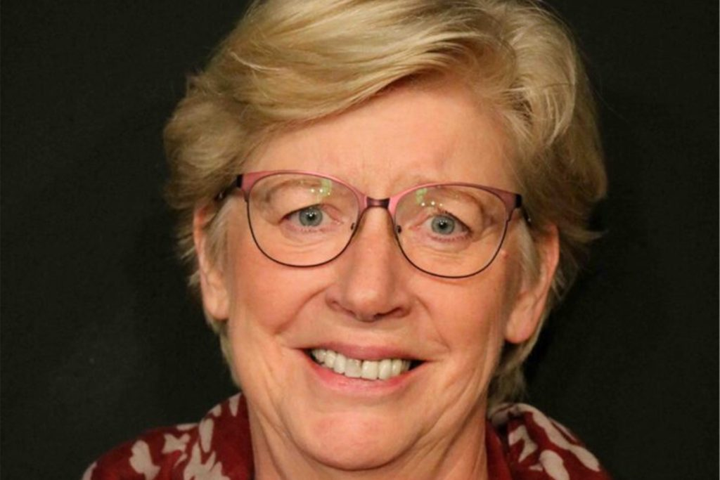Elke Eitner ist erste Vorsitzende und seit 2004 bei der Naturbühne Hohensyburg.