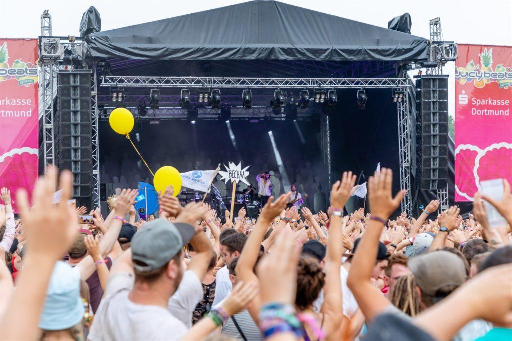 """""""Juicy beats"""" in Dortmund ist ein Festival für junges Publikum."""