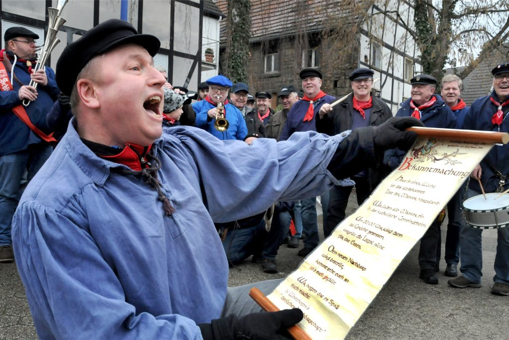 Die lautstarke Bekanntmachung eine Woche vor Sup Peiter fällt in Westhofen diesmal ebenfalls aus.
