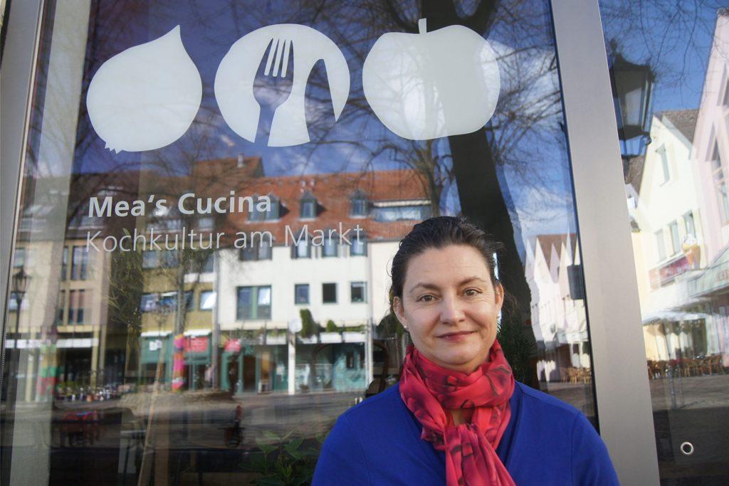 """Michaela Wendel ist Ernährungsexpertin. In Schwerte betreibt sie """"Mea`s Cucina""""."""