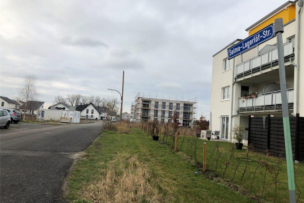 Die Selma-Lagerlöff-Straße ist eine der ersten Straßen, in denen der Straßenausbau umgesetzt wird