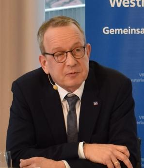 Matthias Entrup, Vorstandsmitglieder der VR-Bank Westmünsterland