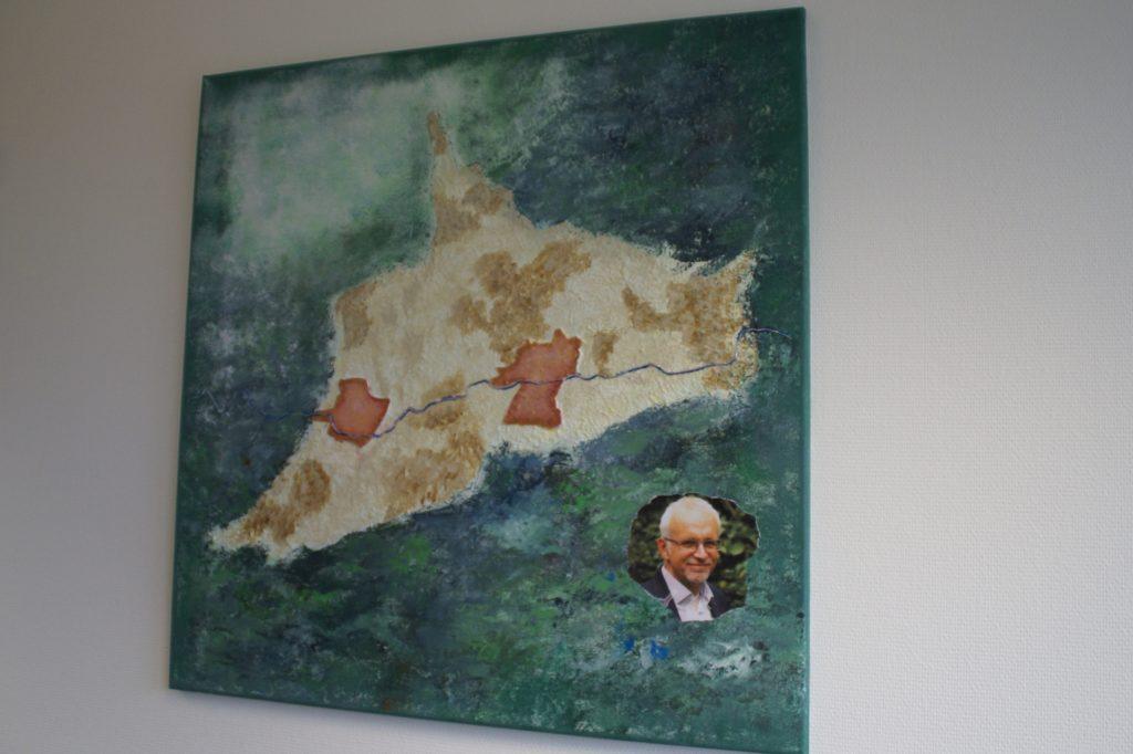 Moderne Kunst und alte Gemeindegrenzen