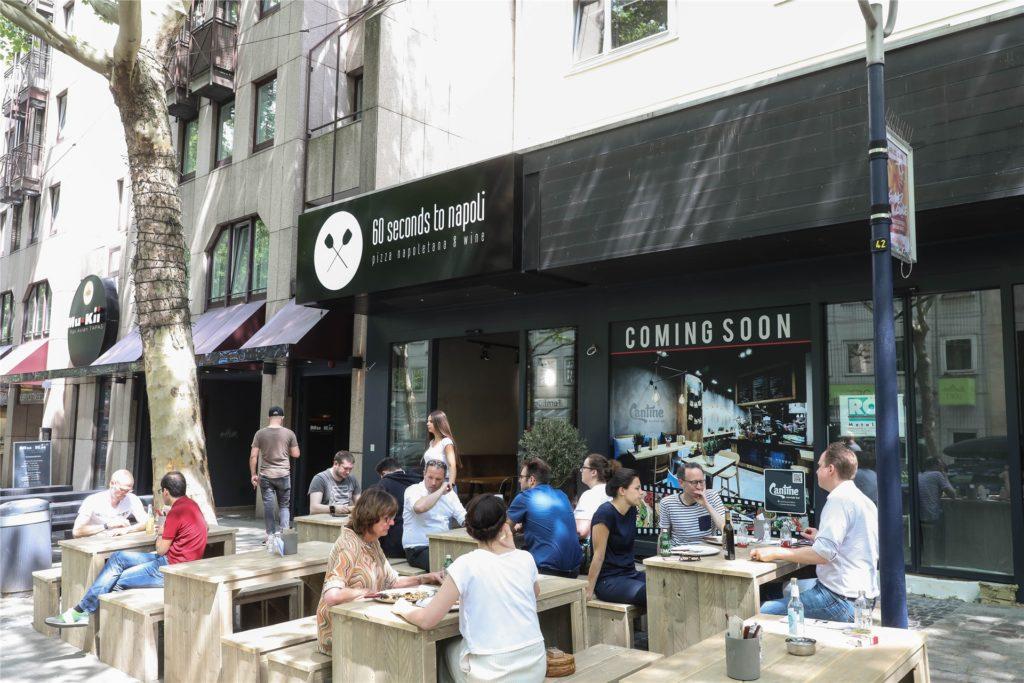 """Das Restaurant """"60 Seconds to Napoli"""" befindet sich bisher an der Kleppingstraße."""