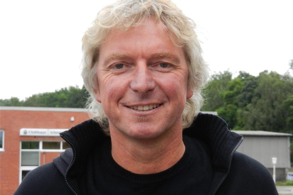 Peter Marx ist zweiter Vorsitzender der Fußballer des Lüner SV.