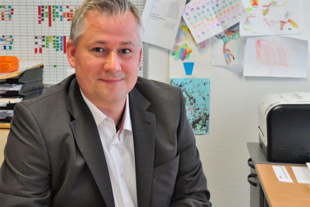 Stefan Völlmert, Schulleiter der Sekundarschule in Kirchhellen