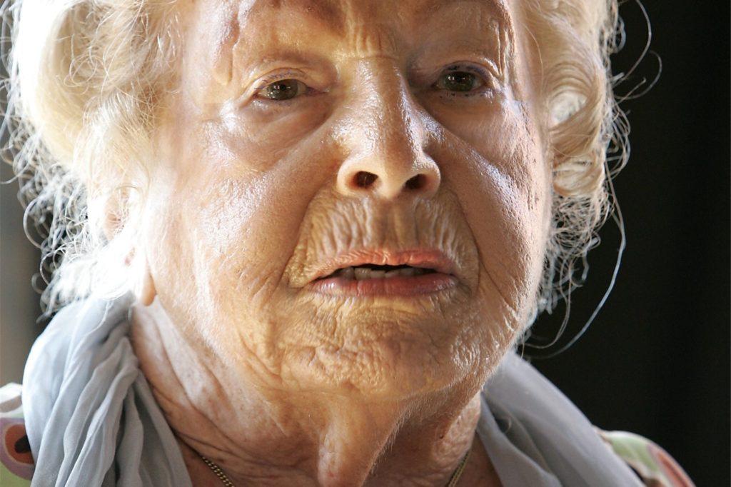 Marga Spiegel, wie sie viele Menschen in Erinnerung behalten werden.