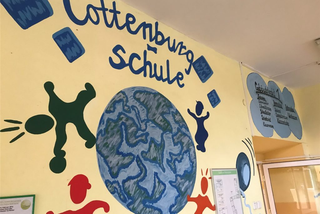 Die Cottenburgschule auf Schwerin wird zusätzlich eine dritte erste Klasse haben.