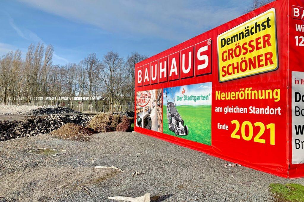 Der Neubau soll schon Ende 2021 eröffnet werden.