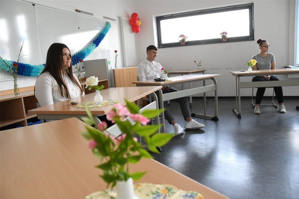 Trotz der Corona-Auflagen hat es an der Selma-Lagerlöf-Sekundarschule 2020 eine atmosphärisch dichte Abschlussfeier für den zehnten Jahrgang gegeben. Auch 2021 könnte das so sein.