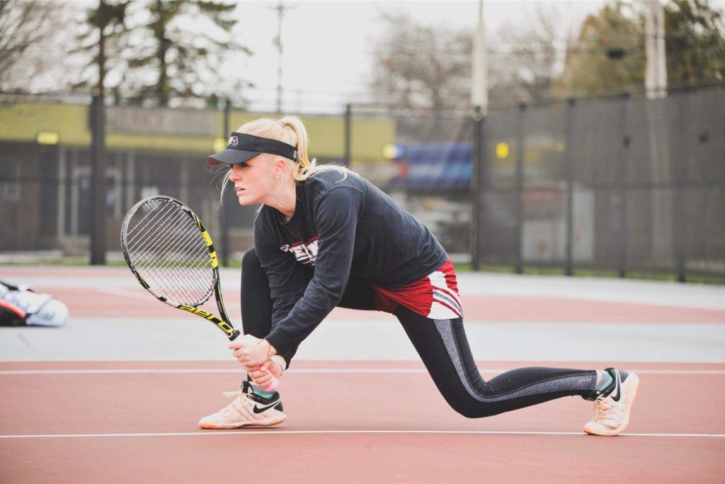 Luise von Agris spielt in der ersten Damenmannschaft des TC Castrop 06 und trainiert eine US College-Mannschaft.
