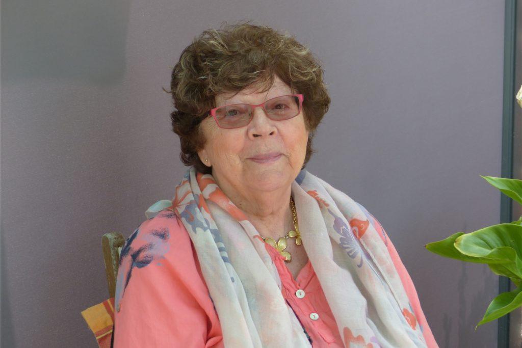 Annie Verneuil ist die Vorsitzende des Städtepartnerschaftsvereins in Walincourt-Selvigny.