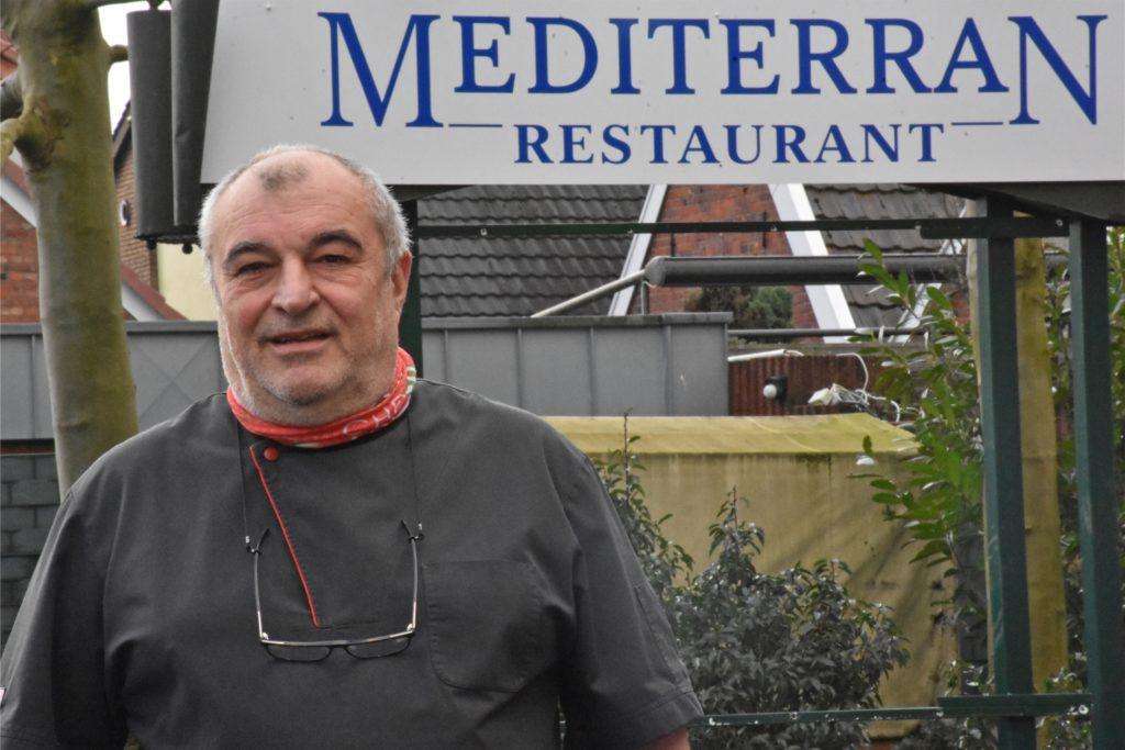 Gastronom Jovan Radulovic trifft die Corona-Krise hart. Aufgeben ist für ihn aber keine Option.
