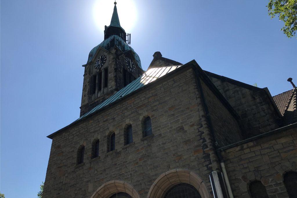 Die Petrikirche in Habinghorst: Die einst drei Gemeinden im Norden Castrop-Rauxels in Ickern, Henrichenburg und Habinghorst sind inzwischen zu einer fusioniert. Das Kirchengebäude an der Wartburgstraße wird bald aufgegeben.