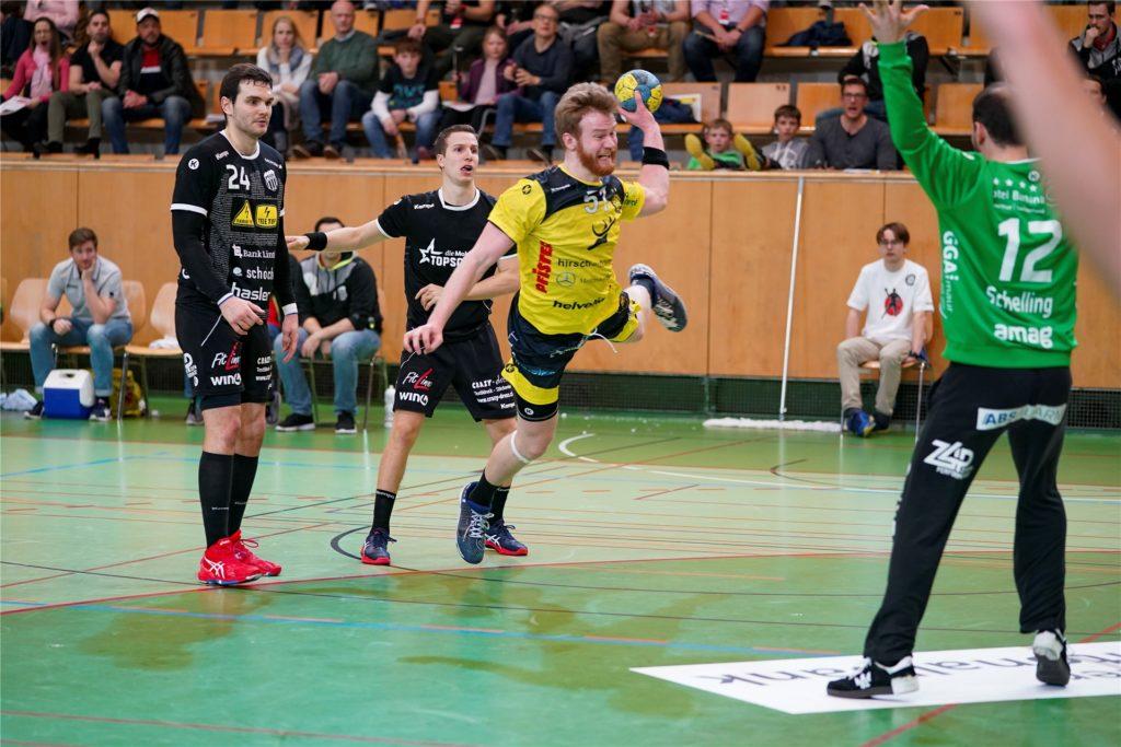 Max Höning spielt mittlerweile in der Schweiz beim TSV St. Otmar St. Gallen.