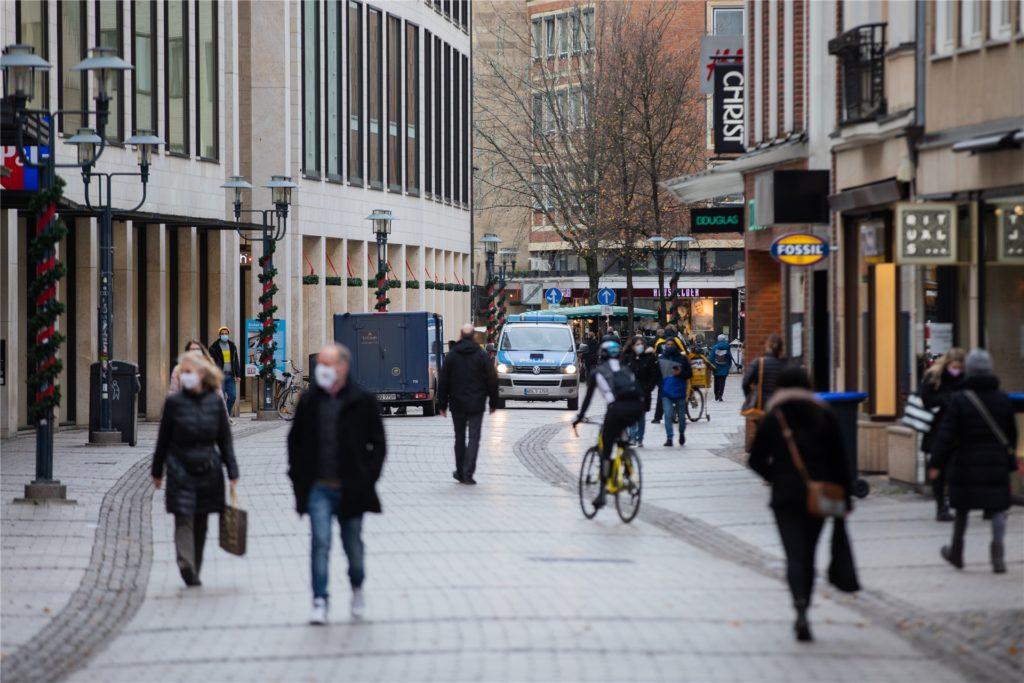 Als erste westdeutsche Großstadt meldete Münster eine Inzidenz-Marke unter 50. (Symbolbild)