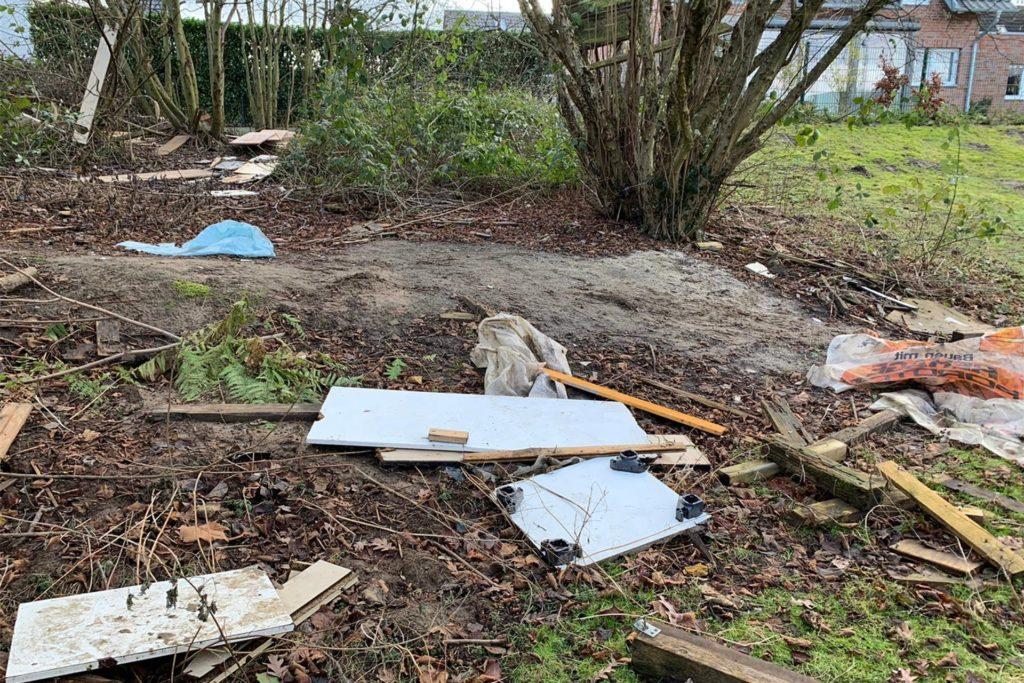 Die Schüler waren erschreckt darüber, wieviel Müll sie teilweise fanden.