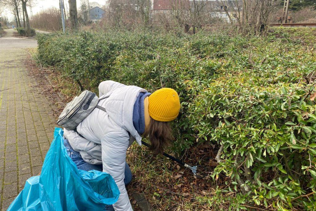 An drei Samstagen sammelten die Abiturienten Müll in Haltern.