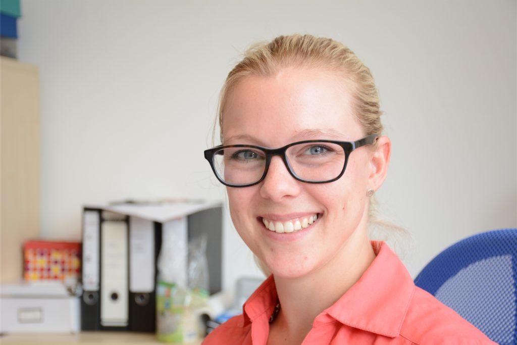 Vanessa Greef-Groß ist Leiterin der Wohnungslosenhilfe Dorsten.
