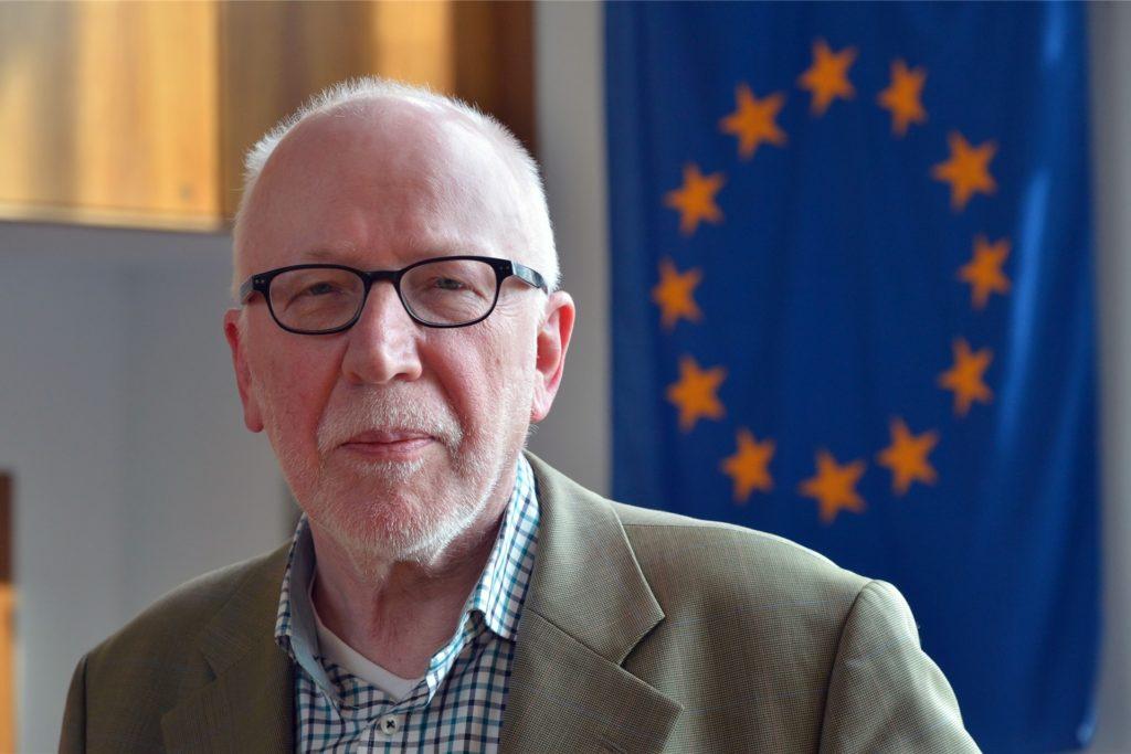 Wolfram Kuschke engagiert sich auch seit Jahren in der Europa Union.