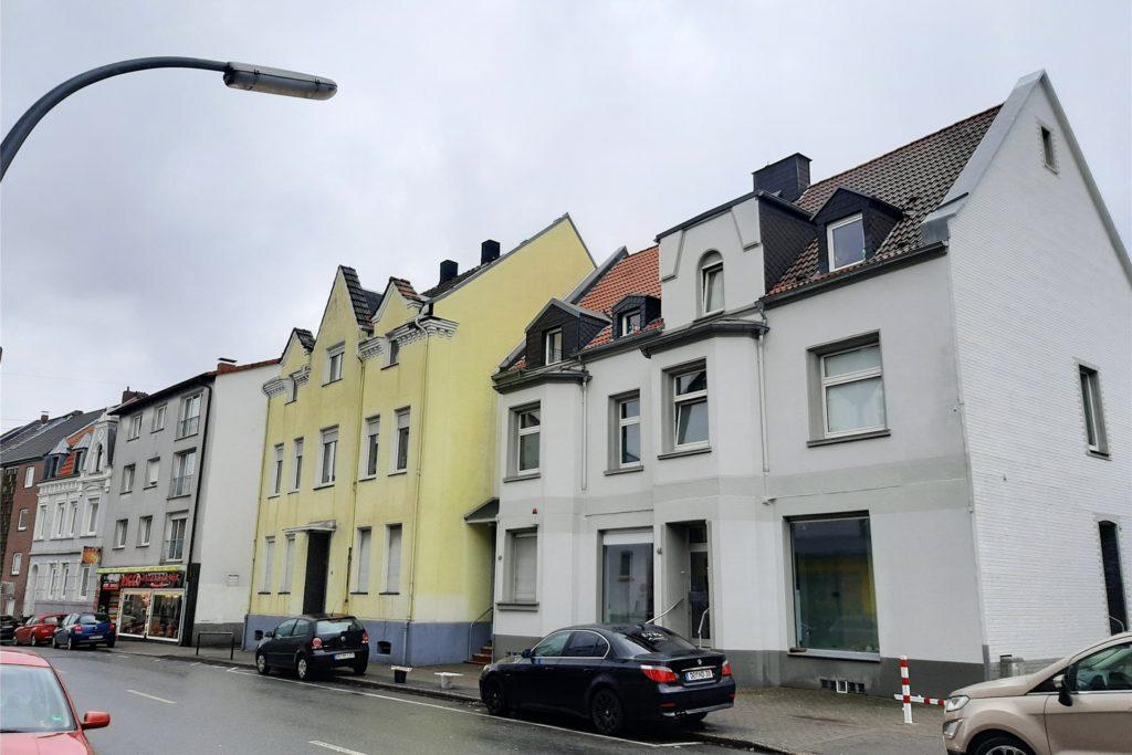 In dieses weiße Gebäude an der Preinstraße wird die Praxis auf 160 Quadratmetern einziehen.