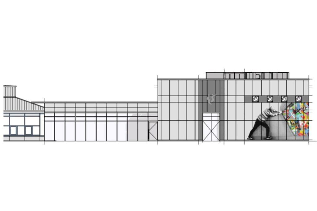 Das Pädagogische Zentrum wird voraussichtlich im Juni 2022 stehen.